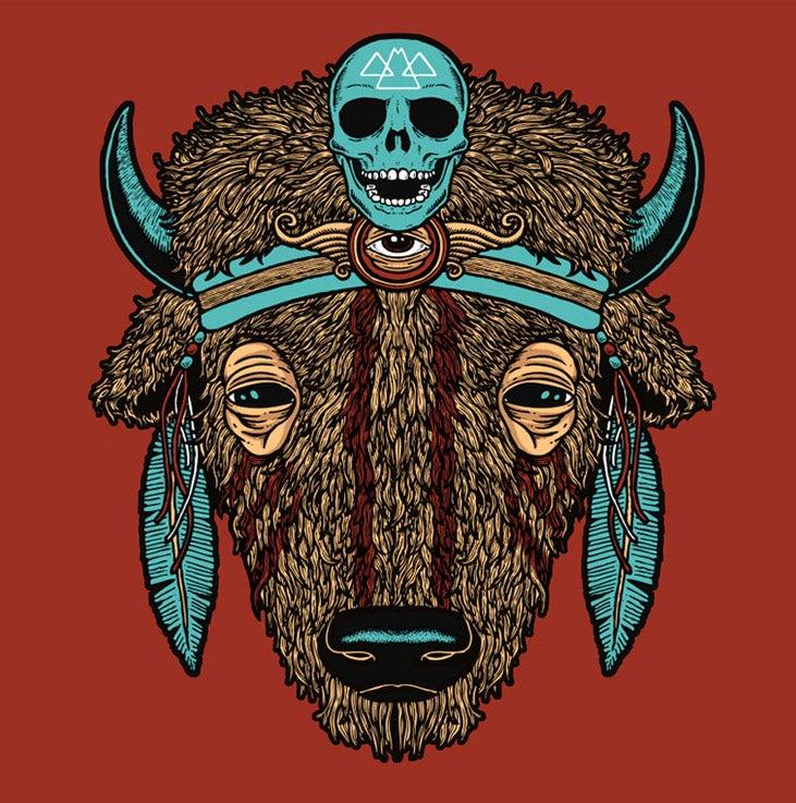 "Image of ""BUFFALO"" SPIRIT ANIMAL T-shirt"