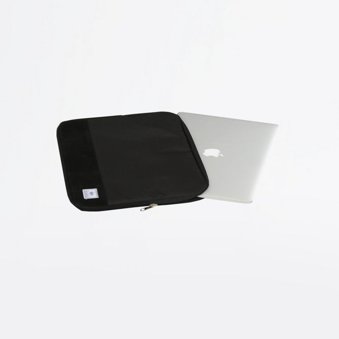 Image of HYPE.BLACK LAPTOP SLEEVE