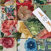 Image of Barkcloth scrap bags
