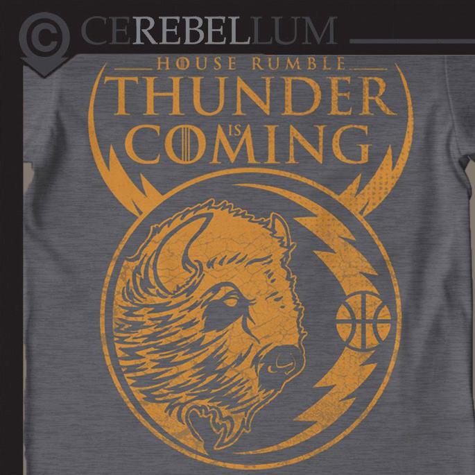 Cerebellum Art — OKC Thunder House Rumble