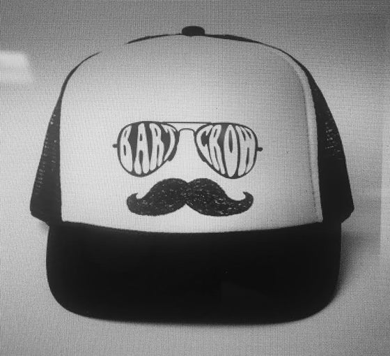 Image of *NEW* BC - Mustache Trucker Hat