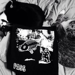 Image of PASS/FISH SHIRT BLK