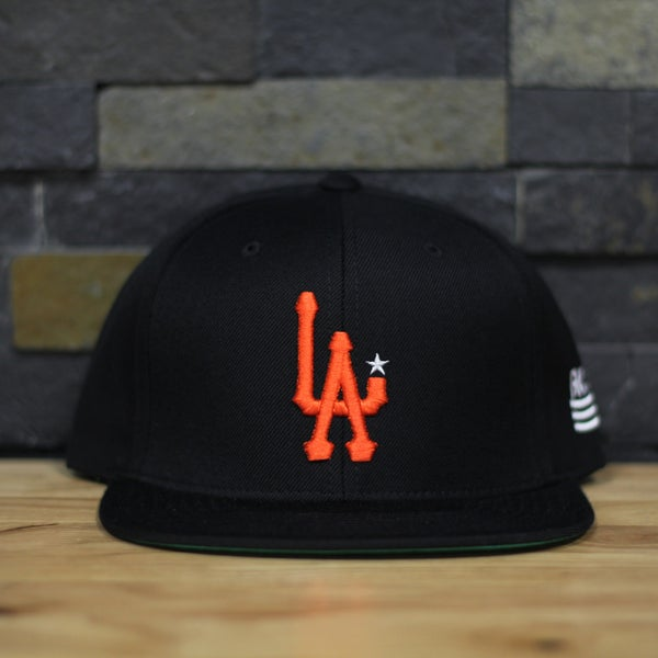 Image of L.A. - Black/SF Orange/white
