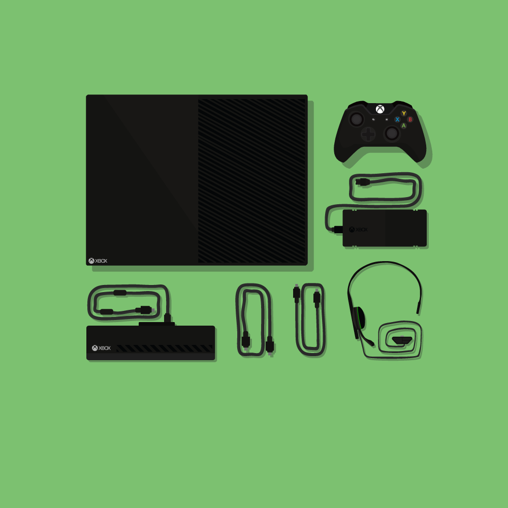 Calendar Illustration Xbox One : Xbox one illustration cm thelimebath