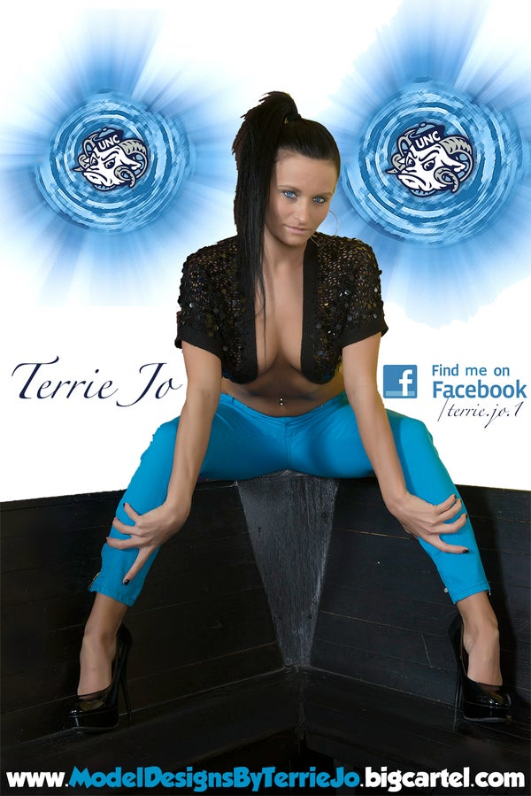 Image of Terrie Jo tar heels