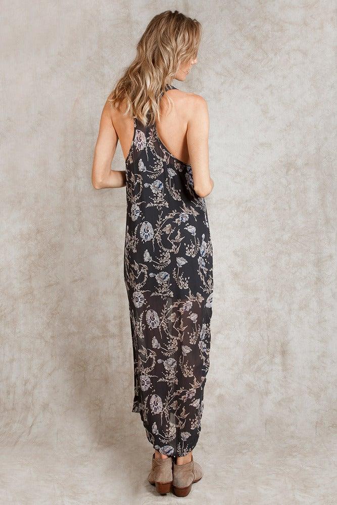 Image of Chan Luu Floral Print Maxi Dress