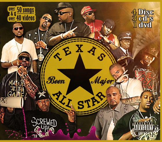 """Image of """"Texas All Stars"""" (Music ft. UGK, South Park Mexican (SPM), King Lil G & more!!)"""