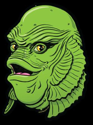 Image of Happy Creature Sticker