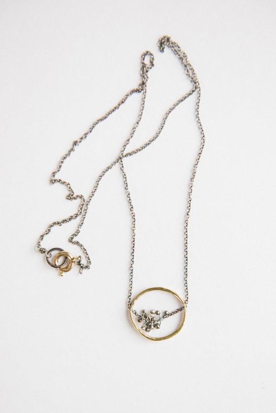 Image of Freya circle necklace