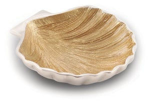 Image of Gold Scallop Dish