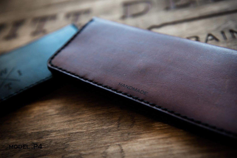 Image of Handmade | Black/Brown Wallet P5