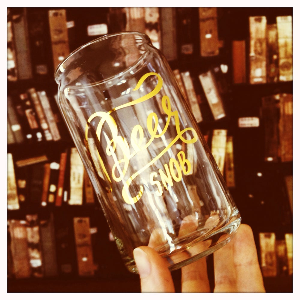 Image of Beer Snob Pint Glass
