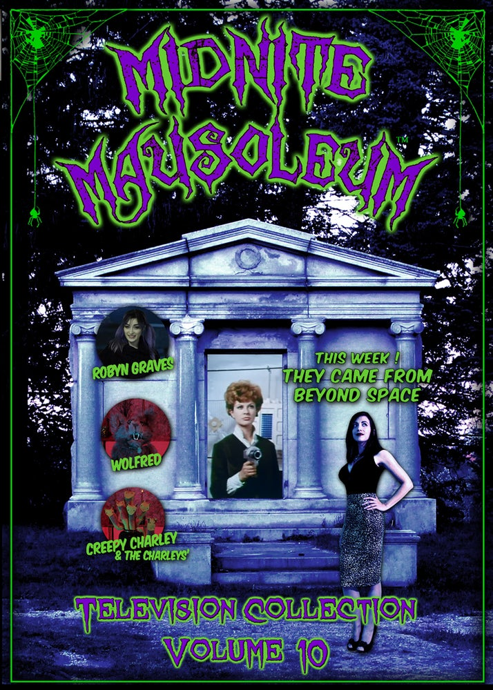 Image of *NEW* MIDNITE MAUSOLEUM TV Collection #10 DVD