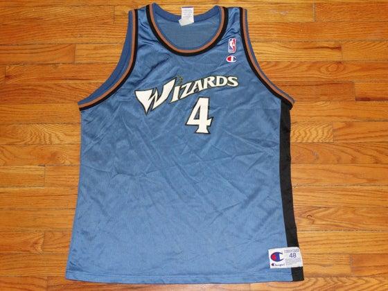 "Image of (L) Men's Washington Wizards ""C-Webb"" Champion Jersey"