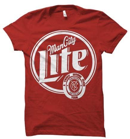 Image of Man City Lite Red