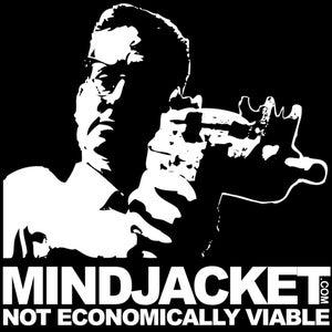 Image of MINDJACKET: Not Economically Viable shirt (falling down)
