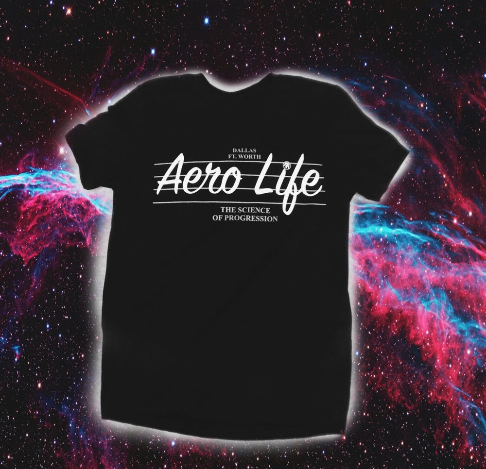 Image of Black HomeTown (AeroLifeDFW) Tee