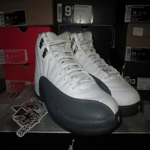 "Image of Air Jordan XII (12) Retro ""Flint Grey"" *PRE-OWNED*"