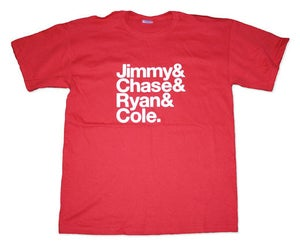 Image of Jimmy & Chase & Ryan & Cole