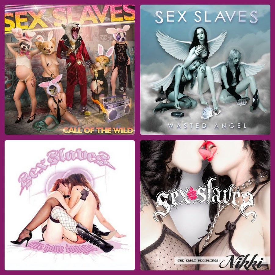Image of CD: SEX SLAVES 4 pack