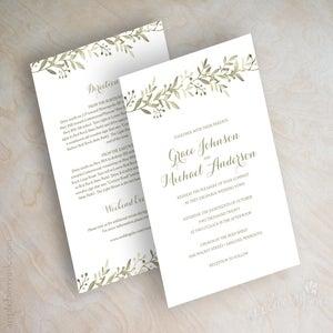 Image of Anne Olive Wedding Invitations