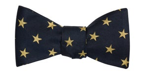 Image of Golden Stars Bow Tie