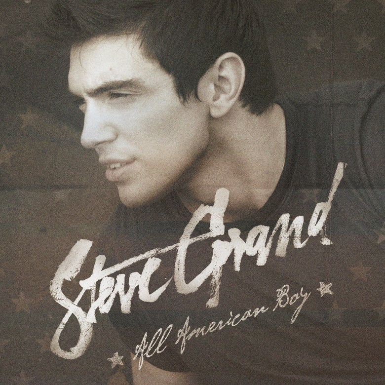 "Image of ""All American Boy"" Album on CD"