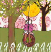 Image of tire swing PRINT