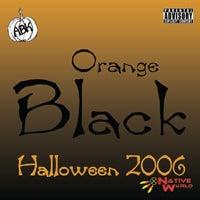 Image of Orange Black 2006 - Black