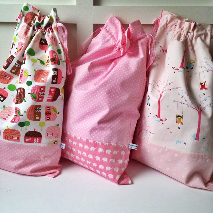 Image of Pretty in Pink Storage Bags