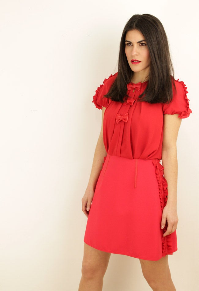 Image of MINI RED DRESS