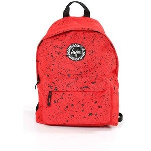 Image of HYPE.RED SPECKLE BACKPACK