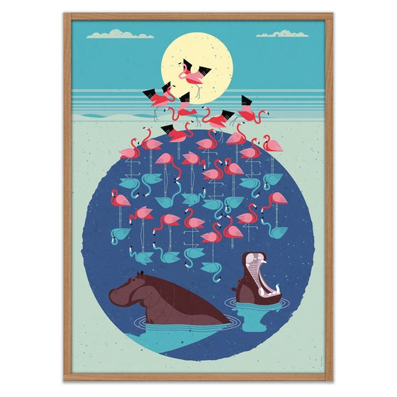 Image of Flamingo Lake