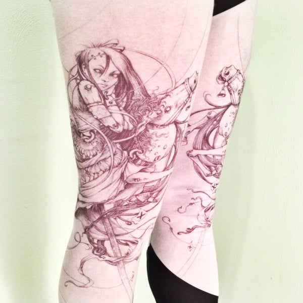 Image of PRE-ORDER Marionette Horse Leggings collaboration with Jeremy Hush
