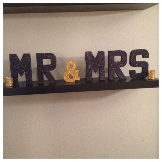 Image of Mr & Mrs Glitter Set