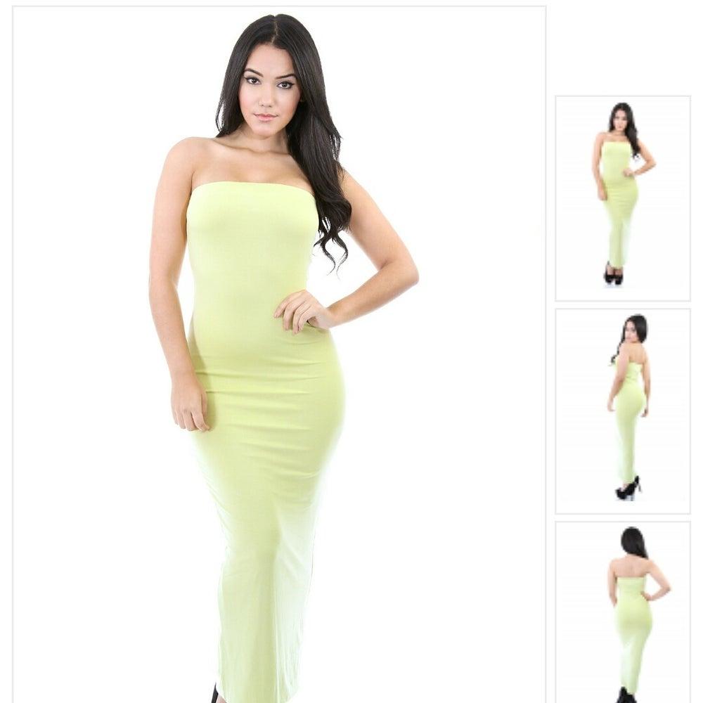 Image of kim k tube dress