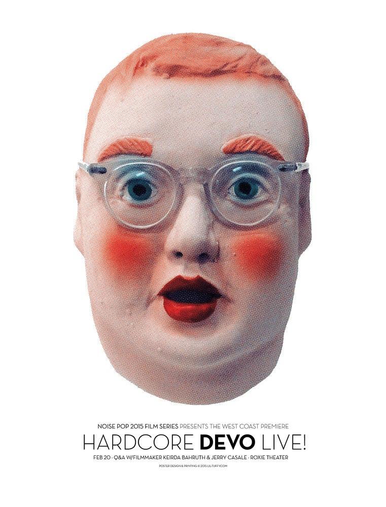 Image of Hardcore Devo Live Film Premier - San Francisco 2015