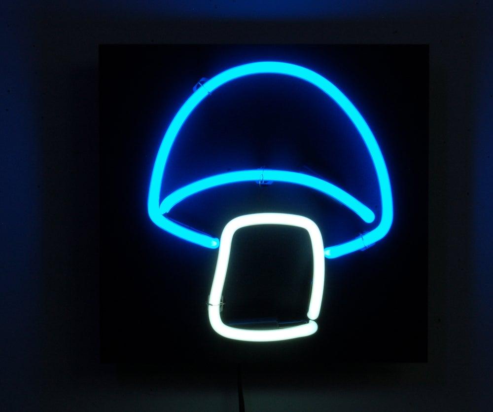 Image of Lil Shroom Neon Mushroom Light