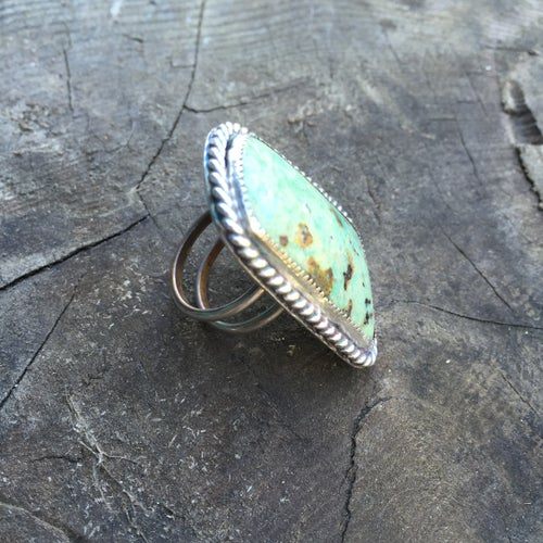 Image of SONORA SUNRISE & STERLING DOUBLE RING