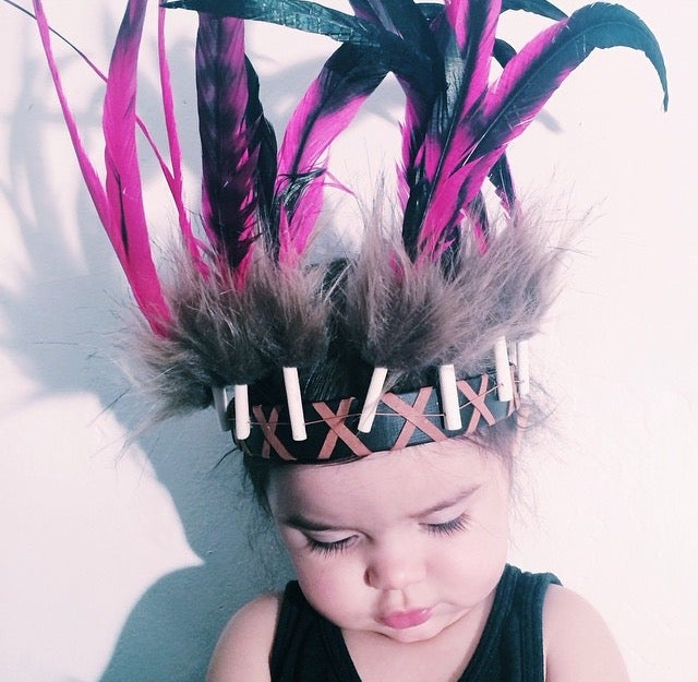 Image of Children's Headpiece- Pink