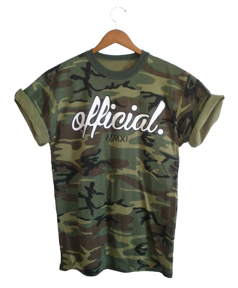Image of Official Camouflage Tee