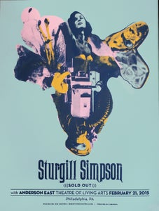 Image of Sturgill Simpson poster