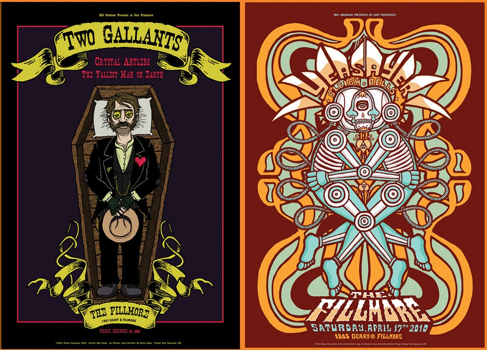 Image of Fillmore posters - Group 2