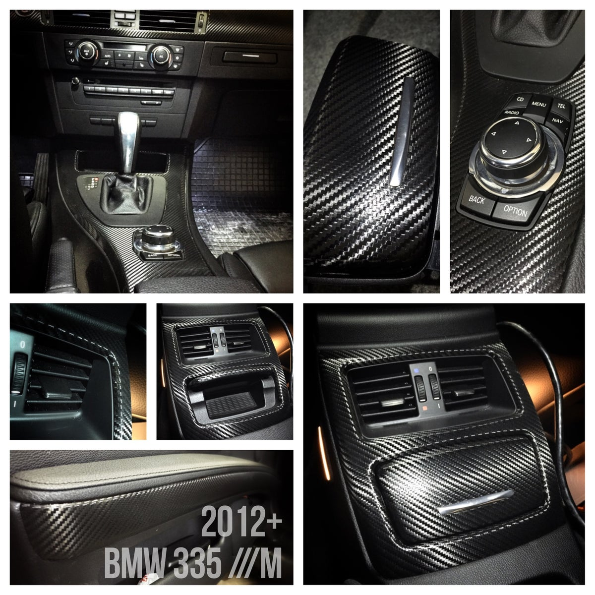 d3k customs bmw m3 335 e92 carbon fiber interior complete. Black Bedroom Furniture Sets. Home Design Ideas