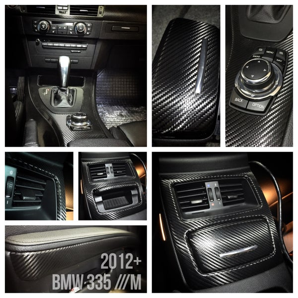Image of BMW M3 335 e92 Carbon Fiber Interior - Complete!