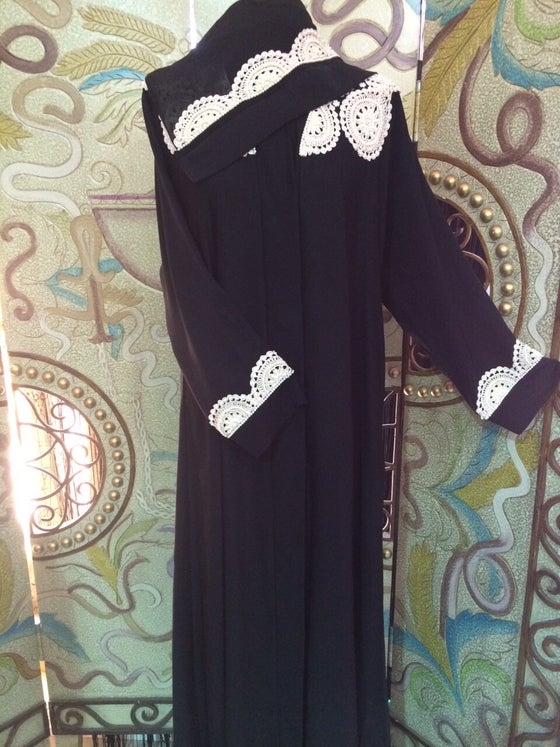 Image of Pearl Crochet Abaya