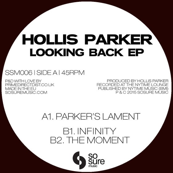 Image of Hollis Parker - Looking Back EP (SSM006)