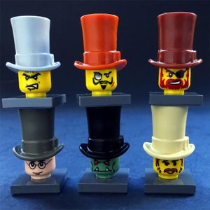 Image of NEW Injection-Molded Top Hats!  WhooHoo!
