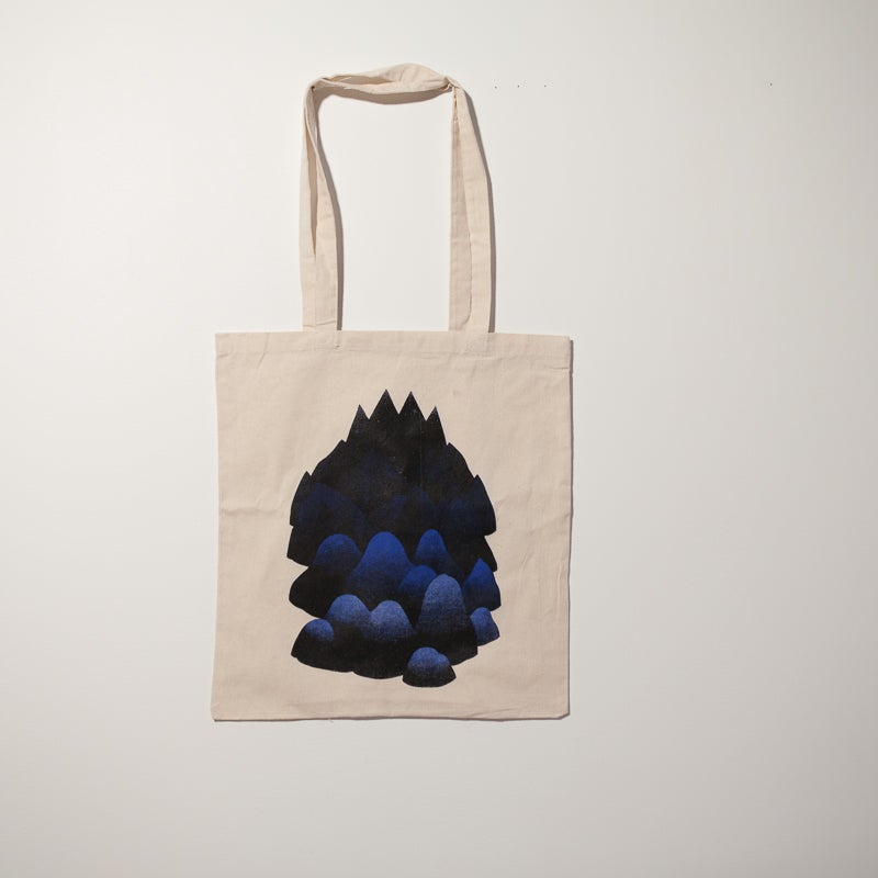 "Image of Tote bag ""Moutain "" par Marta Orzel"