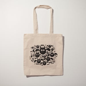 "Image of Tote bag ""Vampos"" par Grems"